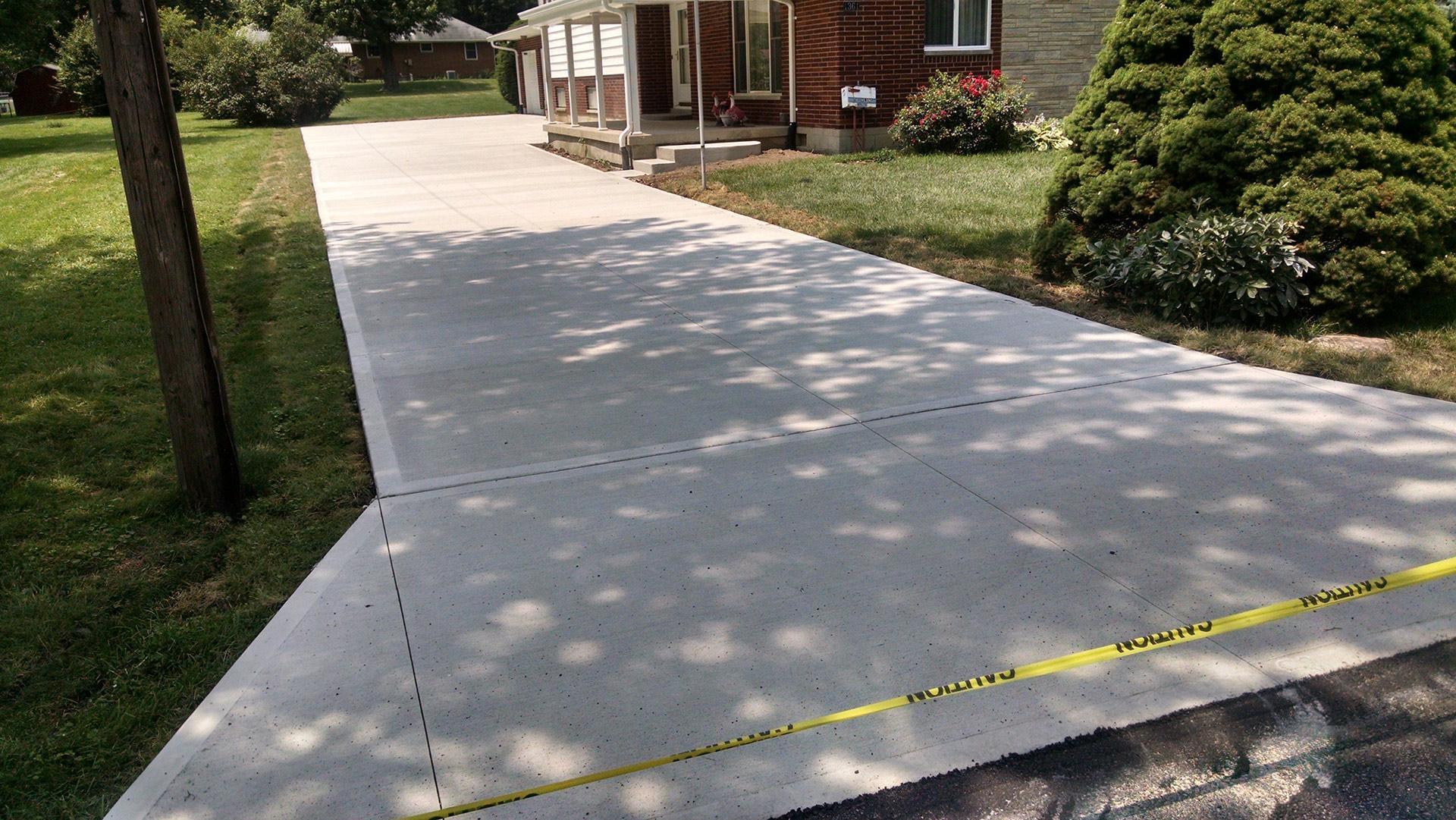 Concrete Driveway Dayton, Ohio - Concrete Driveway
